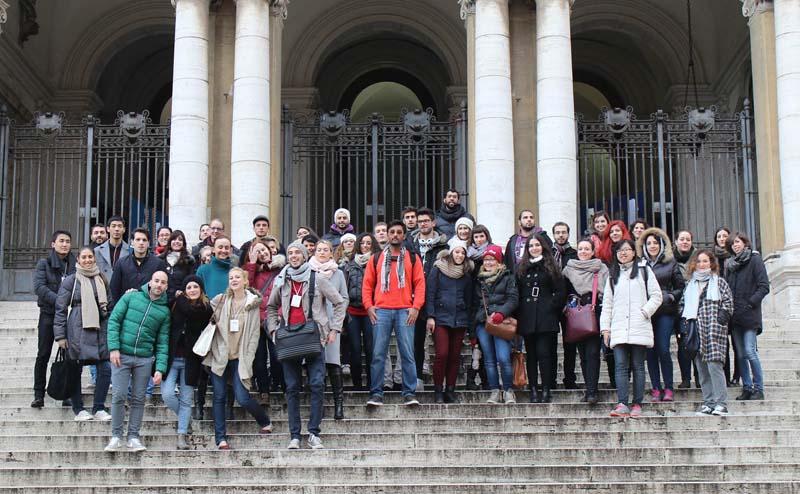 دانشجویان دانشگاه ساپینزا رم