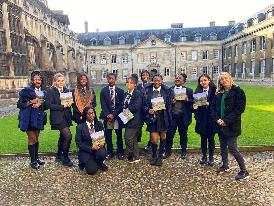 تحصیل در دانشگاه کمبریج