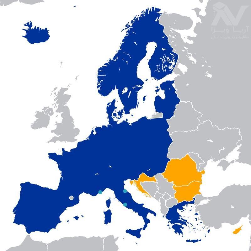 دریافت ویزای تحصیلی اروپا