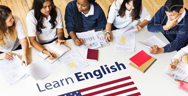 تحصیل در کالج زبان انگلیسی