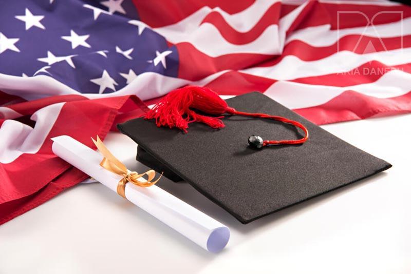 تحصیل آمریکا